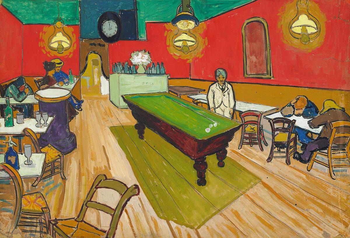 Vincent van Gogh   Le Café de nuit à Arles, 1888   Hahnloser/Jaeggli Stiftung, Villa Flora, Winterthur   Foto: Reto Pedrini, Zürich