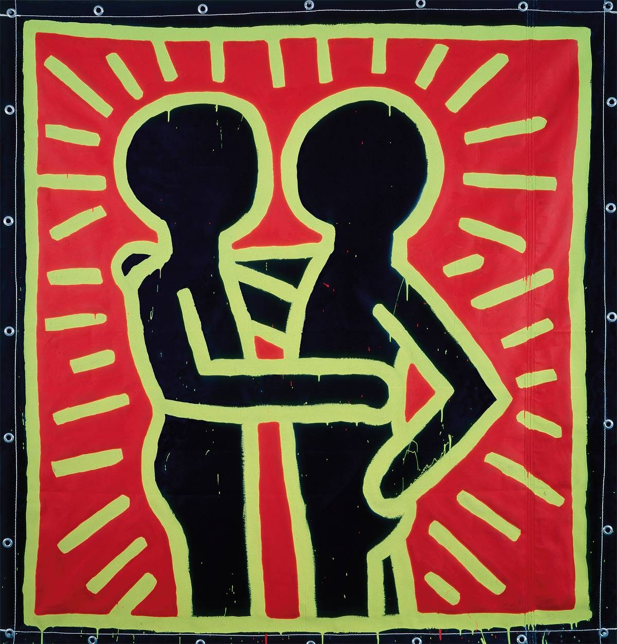 Keith Haring The Alphabet Albertina Wien