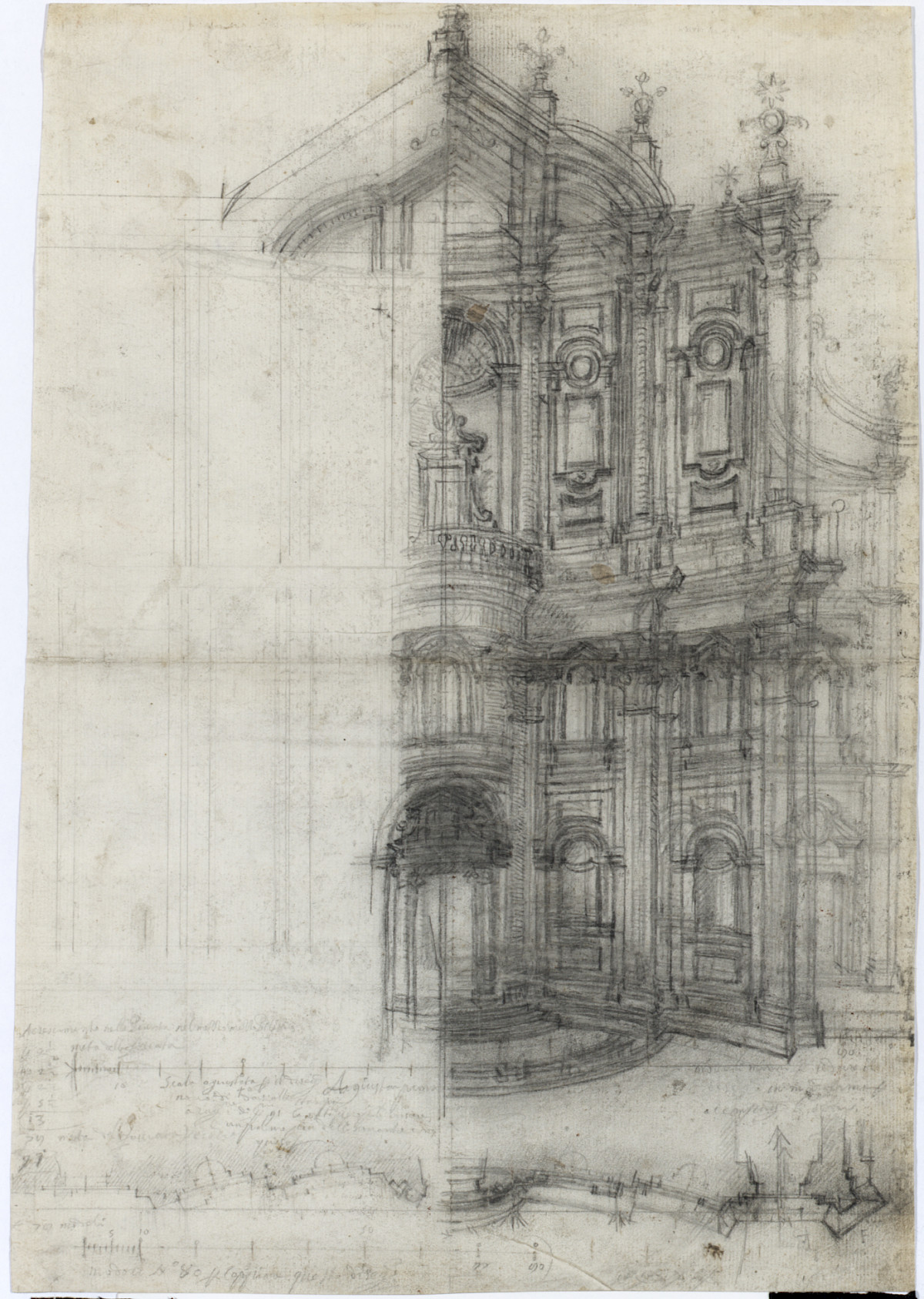 Masterworks of architectural drawing from the albertina for Architectural drawings online