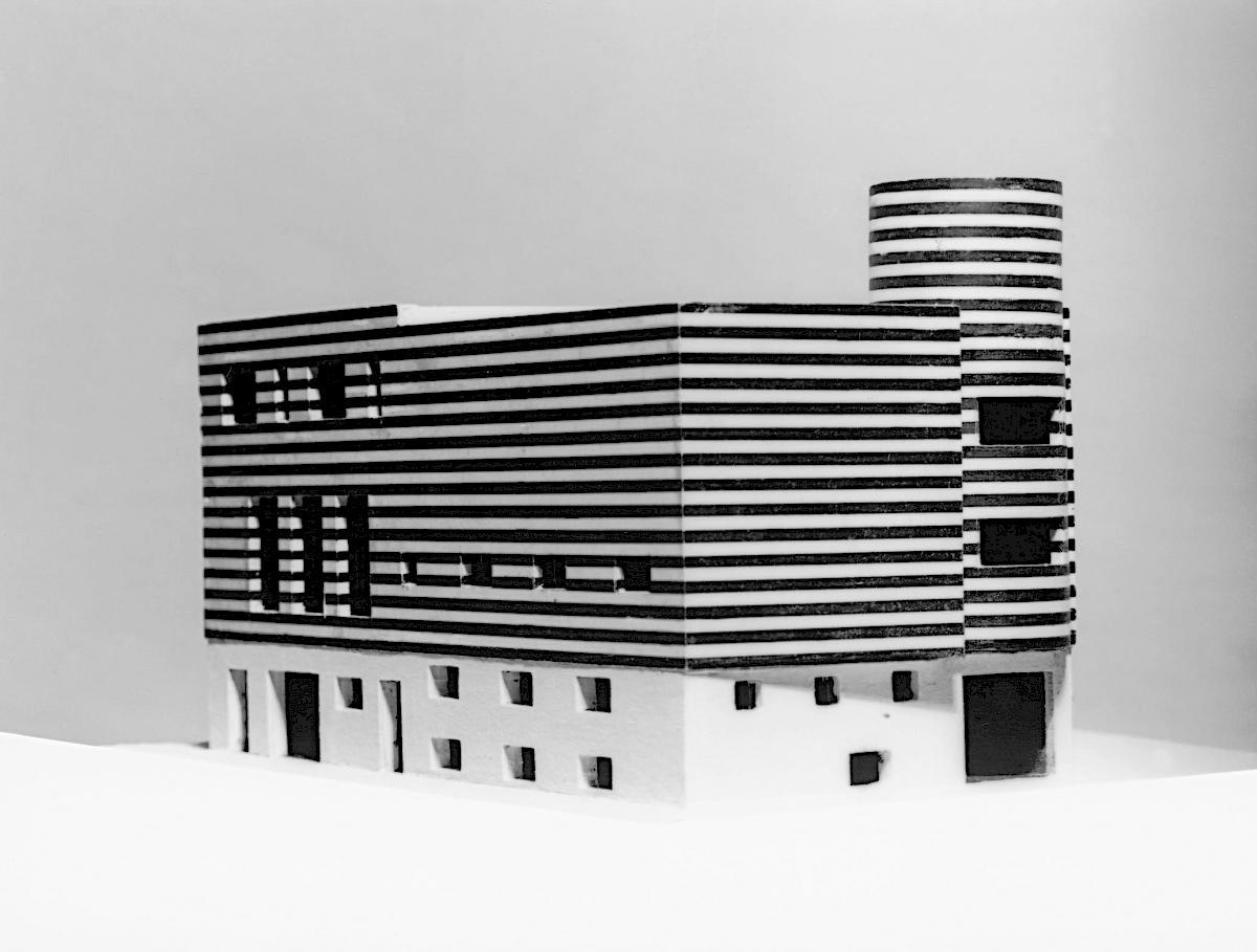Adolf Loos Haus Josephine Baker Paris XVI Avenue Bugeaud Frankreich Originalmodell