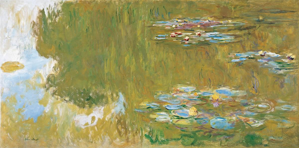Claude Monet | The Water Lily Pond, 1917-1919 | © The Albertina Museum, Vienna. The Batliner Collection