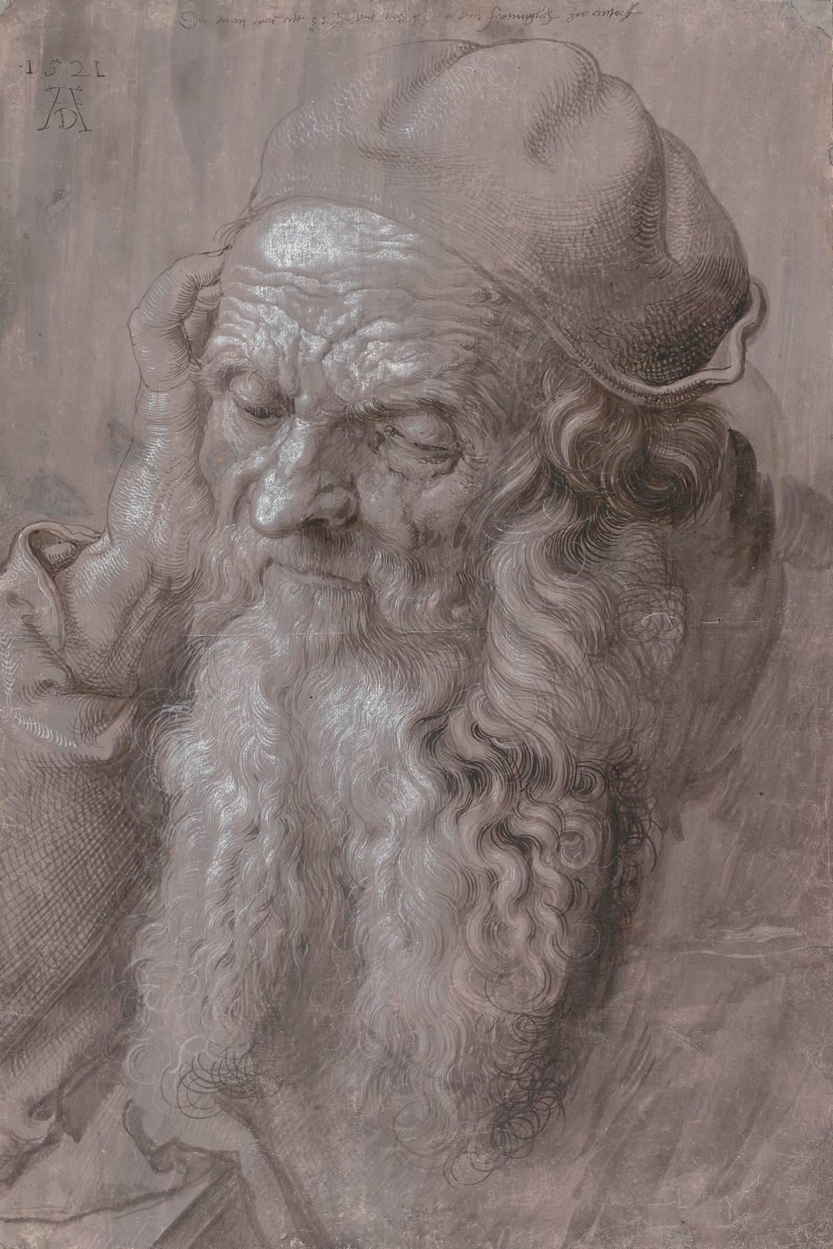 Albrecht Durer: un uomo di novantatré anni, 1521