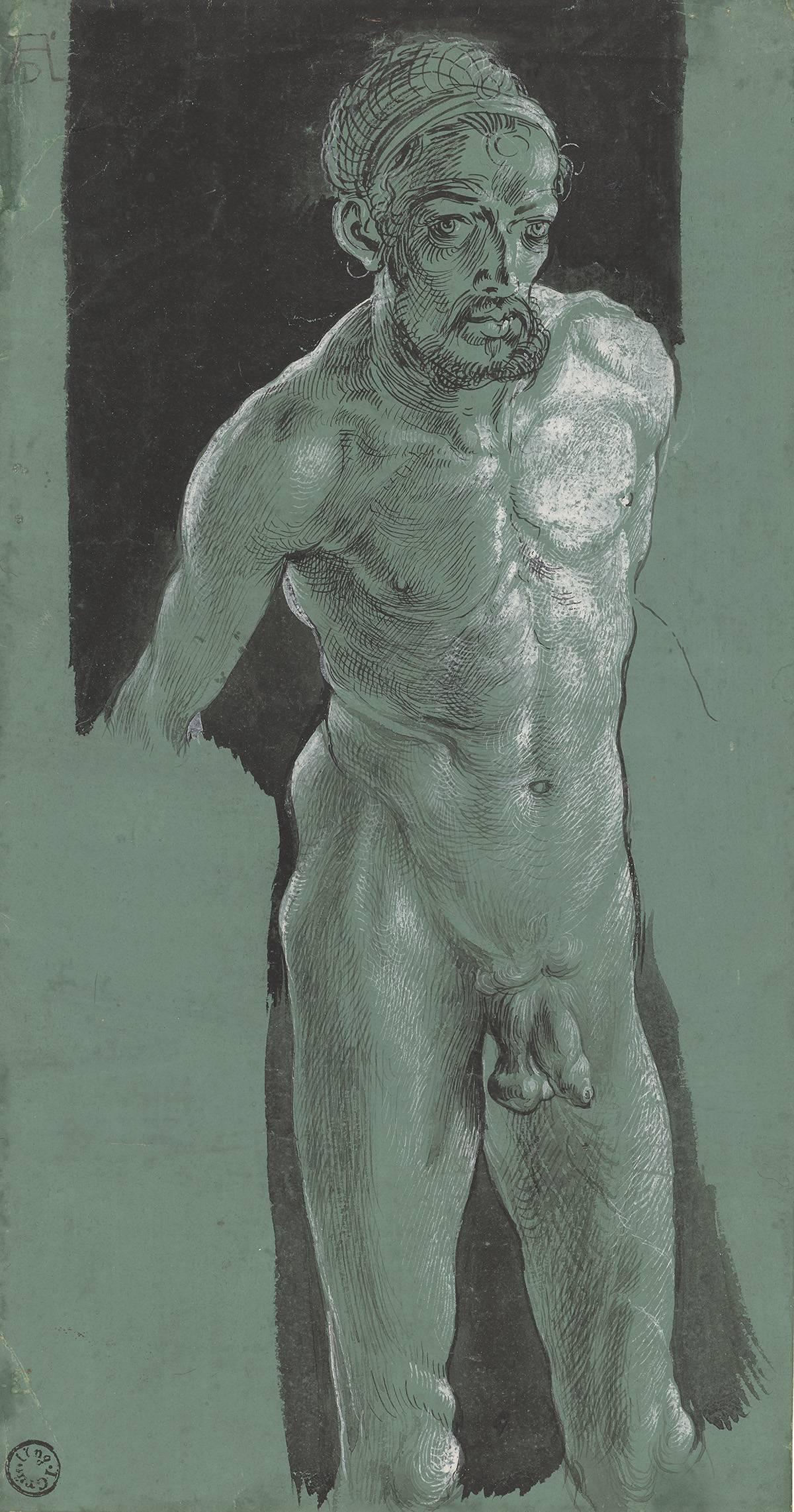 Albrecht Dürer: autoritratto nudo, c. 1499